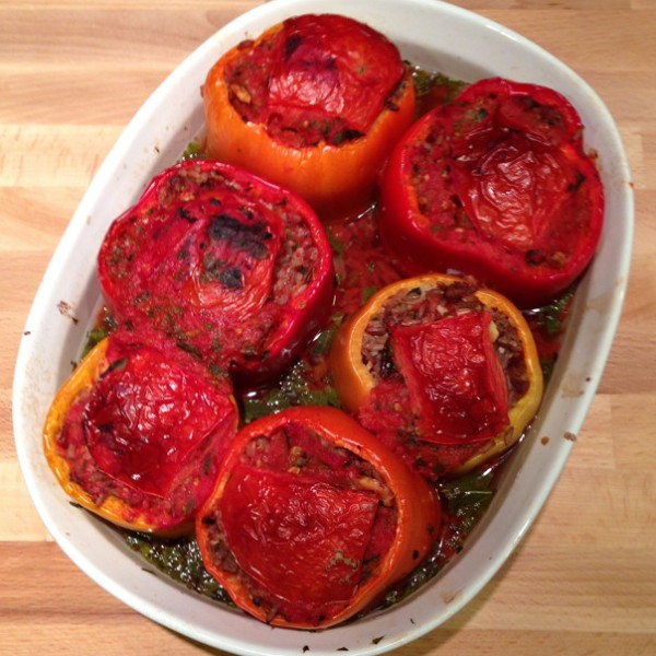 Turkish Stuffed Peppers