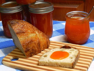 Small-batch Apricot Jam