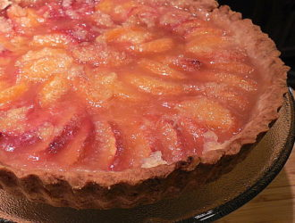 Quick Peach Tart