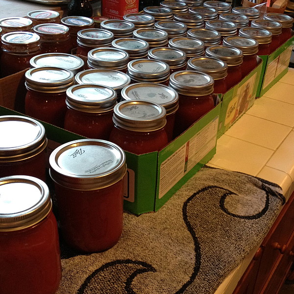 Tomato Sauce in Quantity