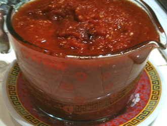 Tomato Paste in the Slow Cooker