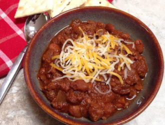 Chili in the Slow Cooker