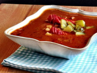 Goulash Soup – Gulaschsuppe