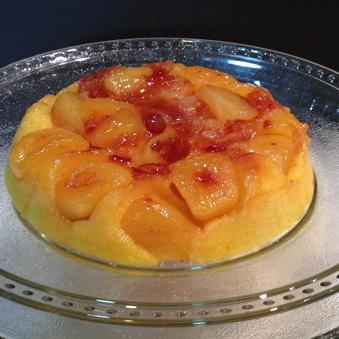 Rice Cooker Apple Cake