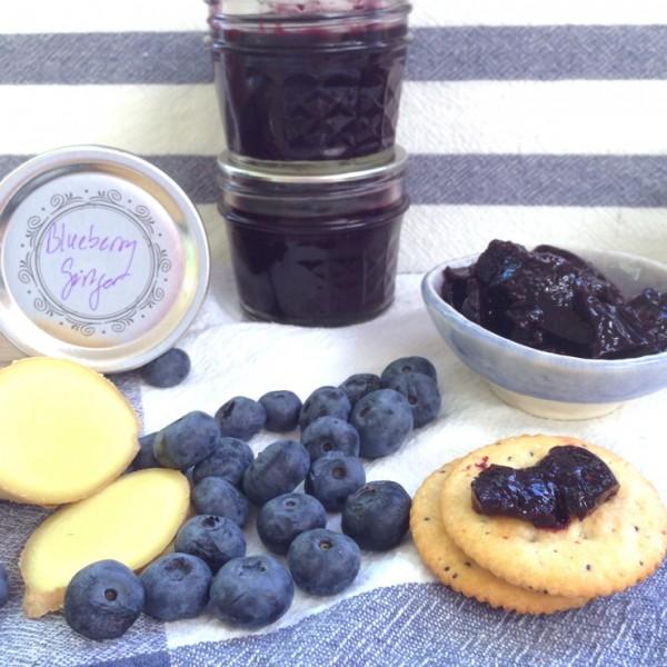 Small-Batch Blueberry Ginger Jam