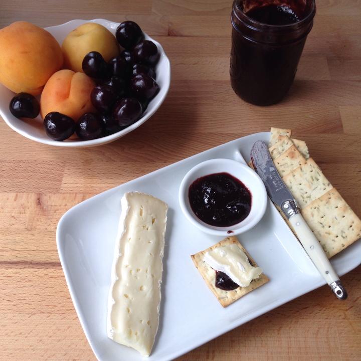 Cherry Apricot Jam