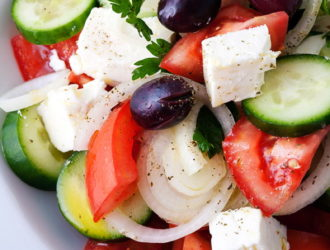 Greek classic: Horiatiki salad