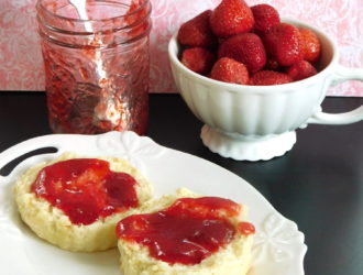 Small-Batch Strawberry Vanilla Butter