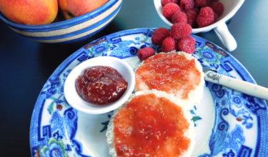Peach Melba Jam Good Food