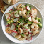 shrimp avocado salad SQ