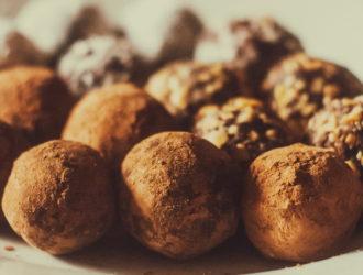 Chocolate Truffles #Choctoberfest