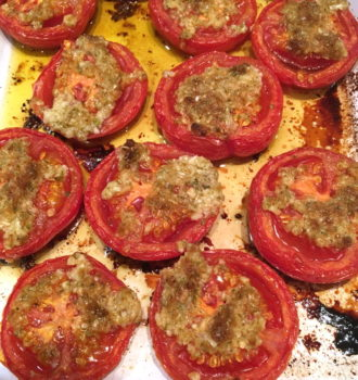 Winter Baked Tomatoes