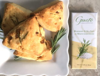 Savory Scones with Rosemary Sea Salt Bar