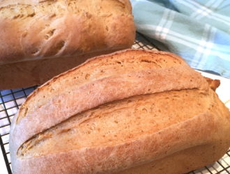 Oat and Wheat Bread
