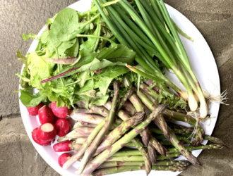 CSA week 3: more asparagus!